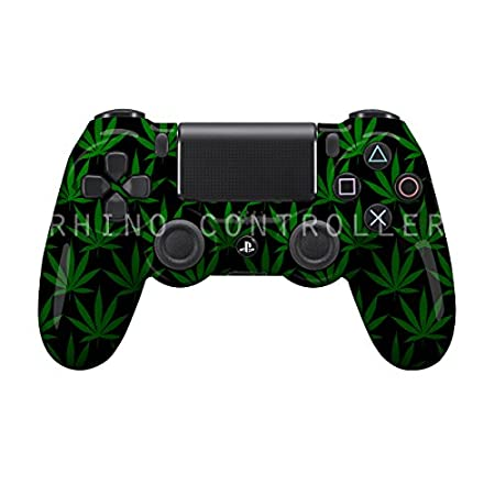 Custom Sony Playstation 4 Wireless Controller PS4 Controllers - Weed - COD Advanced Warfare, Destiny, GHOSTS Zombie Auto Aim, Drop Shot, Fast Reload and More- Without Mods