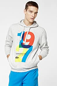 Pull Over Fleece Hoodie With Bold 1927
