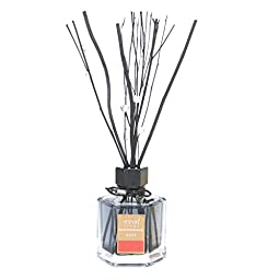 Eyun E16 Essential Oil Reed Diffuser-Six-Angle Glass Bottle, Reed Sticks and Natural Scented Fragrance Oil for Aromatherapy and Air Fresheners.100ML,Lavender Scent