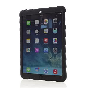 Gumdrop Cases Bounce Skin Case for iPad Air (iPad 5) - Black (BOUNCE-IPAD5-BLK-V2)