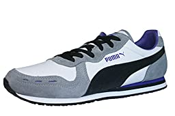 Puma Cabana Racer II LS Womens Leather sneakers / Shoes - White - SIZE US 8.5