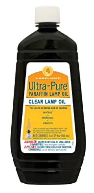 Lamplight 60009 Clear Ultra-pure Lamp Oil, 32-Ounce