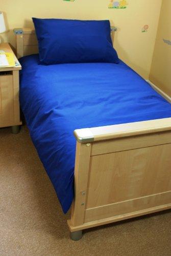 Royal Blue cot bed/ Junior Duvet Set