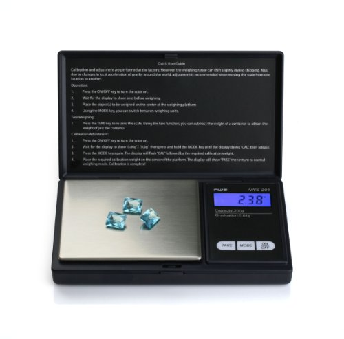 American-Weigh-Scales-AWS-201-BLK-Digital-Personal-Nutrition-Scale-Pocket-Size-Black