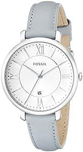 Fossil Women's ES3821 Jacqueline Analog Display Analog Quartz Blue Watch