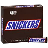 Snickers Candy Bar, 2.07-Ounce Bars (Pack of 48)
