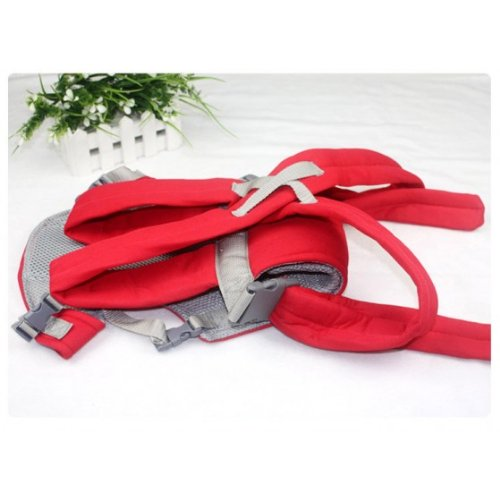 Hot! Convenient Baby Carriers Slings Backpacks Decompression Strap Red By Anlo