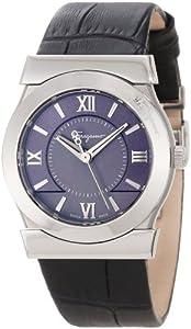 Salvatore Ferragamo Women's F75SBQ9909 SB09 Vega Grey Mother-of-Pearl Dial Sapphire Crystal Watch by Salvatore Ferragamo