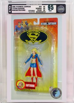 Picture of AFA Superman/Batman 2: Supergirl Action Figure AFA 95 (B000RYD8VW) (Batman Action Figures)