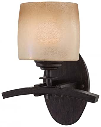 Iron Oxide 1 Light Wall Sconce from the Raiden Collection Model-6181