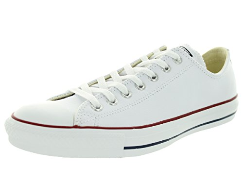 Converse Unisex Chuck Taylor Ox White Basketball Shoe 8.5 Men US / 10.5 Women US