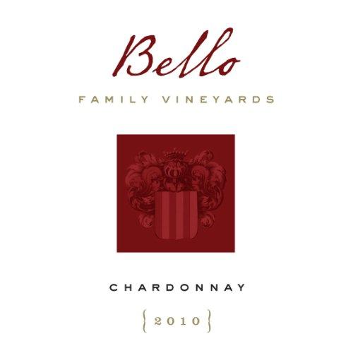2010 Bello Family Vineyards Napa Valley Chardonnay 750 Ml