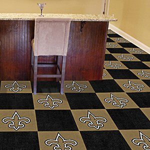 Fanmats NFL 18 x 18 in. Carpet Tiles