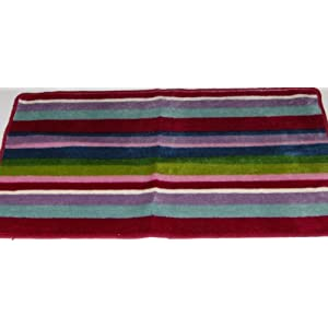 Singapore Pictures Amah on Amazon Com  Pretty Lilu Colorful Stripe Throw Accent Rug Striped Area