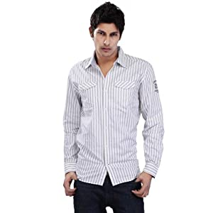 S Oliver Men Shirts 13012214637 White 01G9