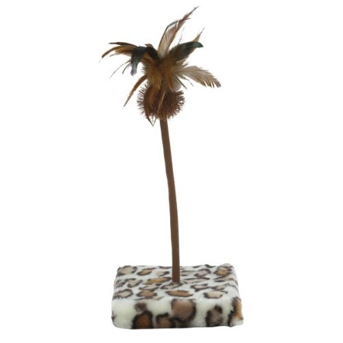 image Savvy Tabby Jungle Jabbers Cat Toy, Snow Leopard