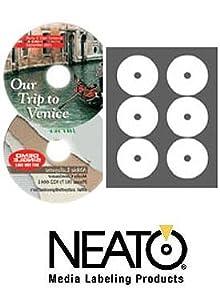 Neato - PhotoMatte Mini CD Labels - 100 Pack