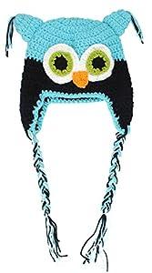 niceeshop(TM) Toddler Baby Girls Boys Owls Animal Crochet Knit Woolly Cap Hat