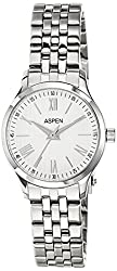 Aspen Ceramic Analog White Dial Womens Watch - AP1789