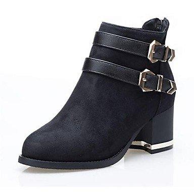 Schuhe Mode Stiefel Frauen spitze Zehe Blockabsatz Stiefeletten mehr Farben erhältlich bestellen