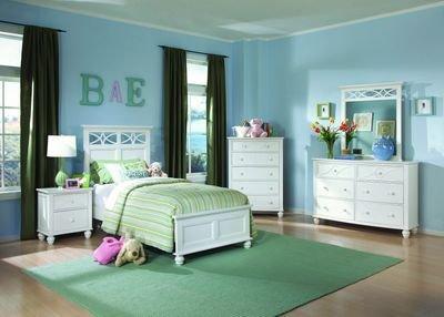 White Queen Bedroom Set 3161 front