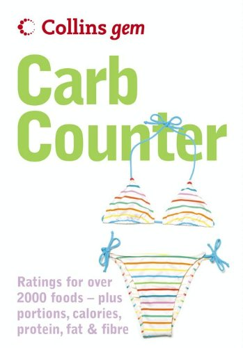 Collins Gem - Carb Counter: A Clear Guide to Carbohydrates in Everyday Foods