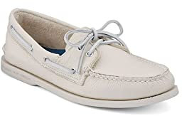 Sperry Top-Sider Men\'s A/O 2 Eye Boat Shoe,Ice,11 M US