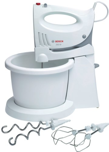 Bosch 350 Watt Hand Mixer with Bowl, White by BSHAE