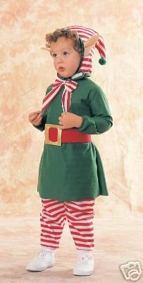 Lil' Elf Suit Costume - Toddler