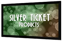 "Silver Ticket HDTV 16:9 135"" Fixed Frame Projector Screen"