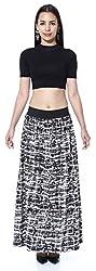 Black & White Stroke skirt