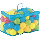 Chad Valley Bag of 100 Multi-Coloured Plastic Play Balls.