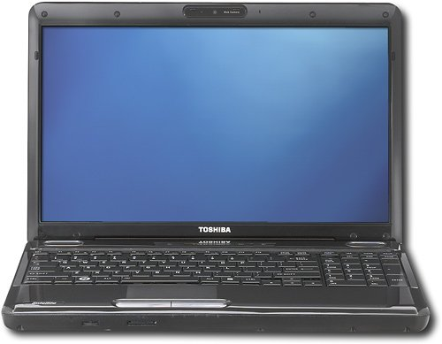 Toshiba Satellite Laptop L505-S5988 Intel Core2 Duo 2.1GHz /16 TFT-LCD widescreen with TruBrite technology/ 4GB ddr3/ 320GB/ Duplicated-layer DVDRW/ Windows 7 Home Premium 64-bit