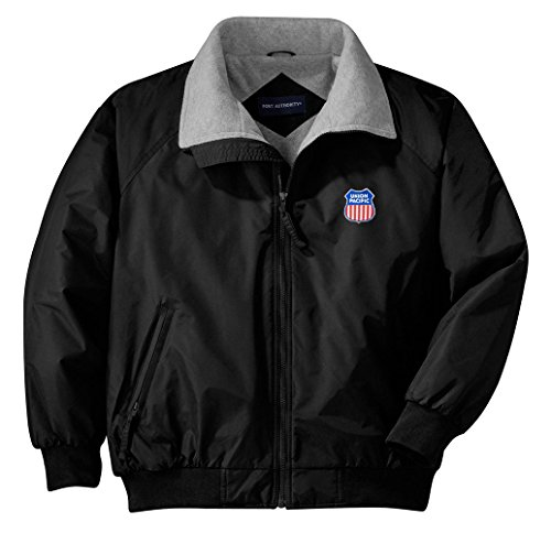 [Union Pacific Embroidered Jacket Adult L [Jacket47]] (Pirate Coat For Sale)