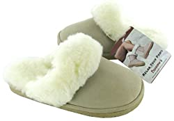 Bearpaw Plush Women's Slippers Shoes Sheepskin US 7