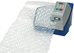TIS001 Mini Pak'r Air Pillow Machine. Portable Plug-In Anywhere Produces Instant Air Bag Packaging / Bubble Wrap. Makes 5 Cushion /Suitable For Amazon Online Packaging / Void Fill Styles from Inflatable Film (Sold Separately). For Recyclable Protective Packing & Wrapping Pillows, Bags, Cushions & Void Filler. No Need for Compressor / Amazon Packaging Material