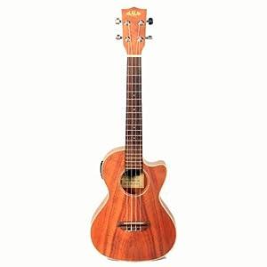 kala koa tenor cutaway electric ukulele. Black Bedroom Furniture Sets. Home Design Ideas