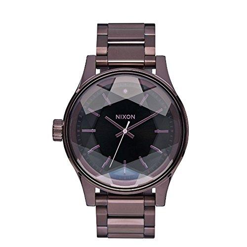 nixon-womens-quartz-watch-with-silver-facet-38-analogue-quartz-stainless-steel-a3842172-00