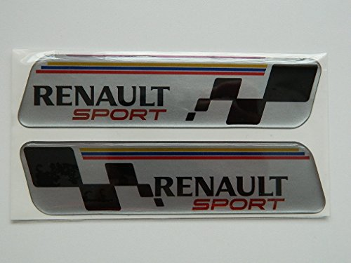 X2 SET OF RENAULT SPORTS BADGE EMBLÈMES