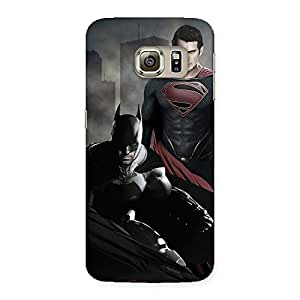 Ajay Enterprises Shade knight Vs day Readyd Back Case Cover for Samsung Galaxy S6 Edge Plus