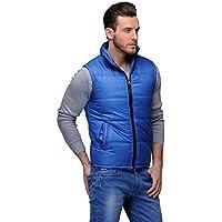 Tailor Craft Men's Blue Sleeveless Jacket