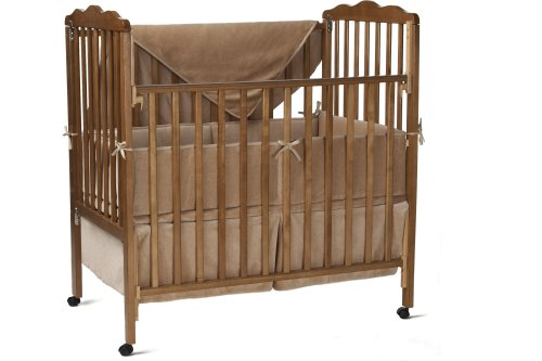 American Baby Company Organic Cotton 3-Piece Cradle Set, Mocha