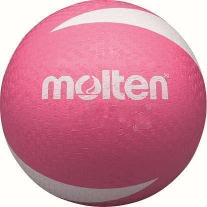 Molten Sv2p Volleyball Weiches Kunstleder Beach Ball Rosa Neu