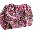 Vera Bradley Baby Bag Diaper in Very Berry Paisley