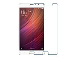 Fing (TM) Tempered Glass 2.5 D Curved Edge / Anti Fingerprint Coating / 9H Hardness 0.3MM Screen Guard For Xiaomi Redmi Pro
