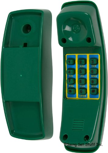 Playground Telephone, Green With Sss Logo Sticker