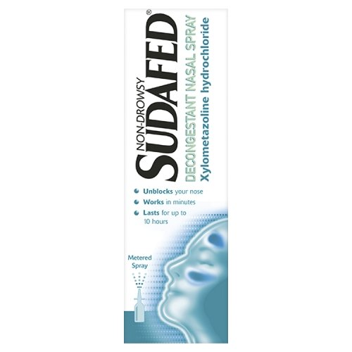 Sudafed Decongestant - Non-Drowsy Nasal Spray 15ml