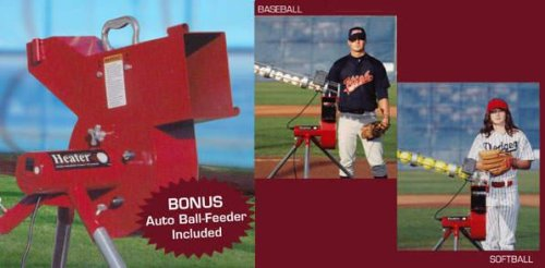 Heater Pro Pitching Machine Heater Combo Pitching Machine