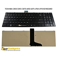 Lap Gadgets Laptop Keyboard For Toshiba Satellite L970D Series 6 months warranty with Free Keyboard Protector Skin by Lap Gadgets