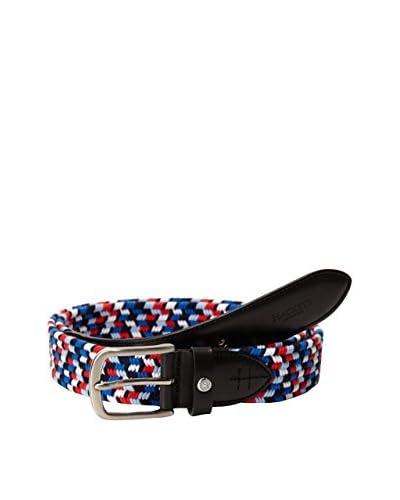 Hackett London Cintura Multi Col Braided Belt